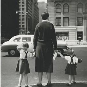 photo argentique noir et blanc Vivian Maier