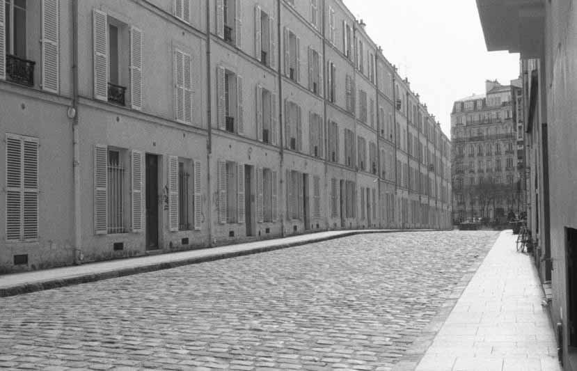 Perspective rue de Paris