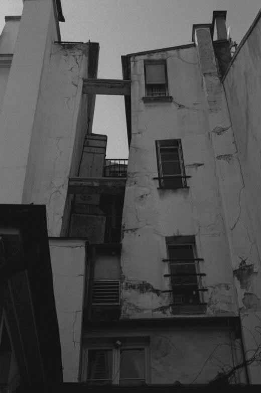 Perspective immeuble Paris